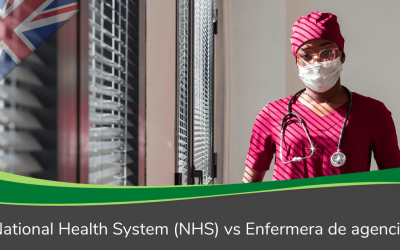 National Health System (NHS) vs Enfermera de agencia