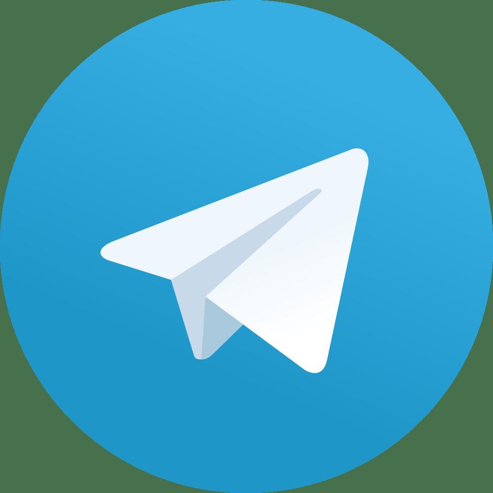 Logo de Telegram ilustrativo